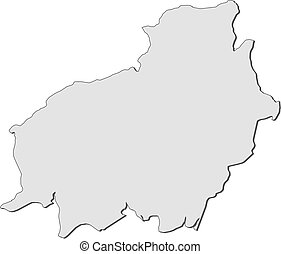 Map - Central Kalimantan (Indonesia)