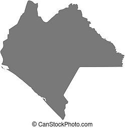 Map - Chiapas (Mexico) - Map of Chiapas, a province of...