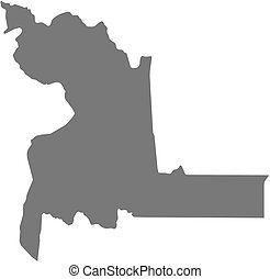 Map - Chuquisaca (Bolivia)