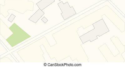 Map city. Vector illustration.
