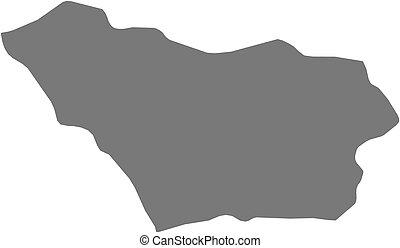 Map - Colonia (Uruguay)