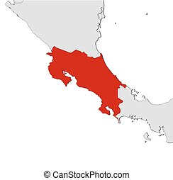 Map - Costa Rica