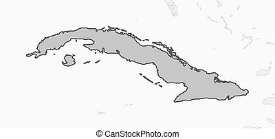 Map - Cuba