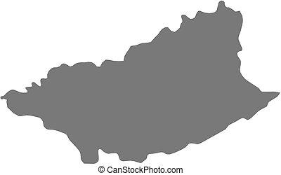 Map - Durazno (Uruguay)