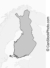 Map - Finland