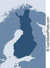 Map - Finland