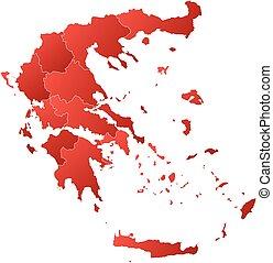 Map - Greece