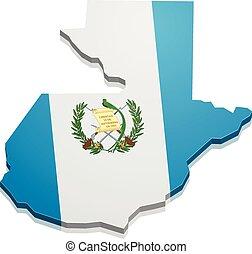 Map Guatemala