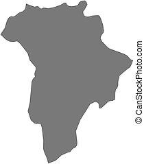 Map - Guatemala (Guatemala)