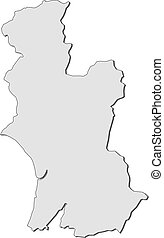 Map - Hawke's Bay (New Zealand) - Map of Hawke's Bay, a ...