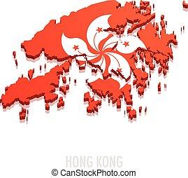 Map Hong Kong