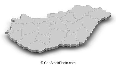 3d térkép magyarország Map uf hungary Illustrations and Clipart. 119 Map uf hungary  3d térkép magyarország