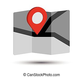 Map Icon and Pin Design
