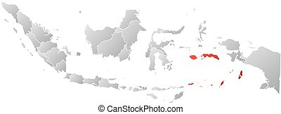 Map - Indonesia, Maluku