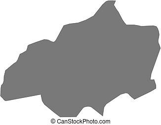 Map - Jalapa (Guatemala)