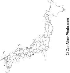 Map - Japan