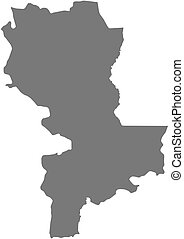 Map - Kasai-Oriental (Democratic Republic of the Congo) - ...