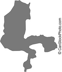 Map - Kebbi (Nigeria)