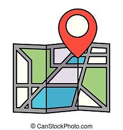 map location navigation