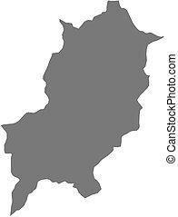 Map - Luang Prabang (Laos) - Map of Luang Prabang, a...