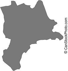 Map - Lucerne (Swizerland)