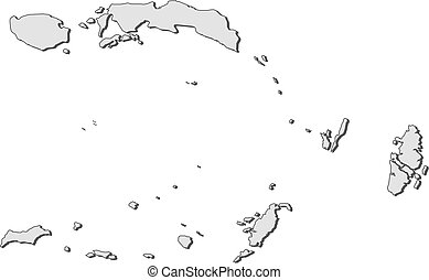 Map - Maluku (Indonesia)