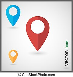 Map Marker | Map Pointer | Marker icon | Pointer icon | ...