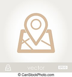 Map Marker vector icon