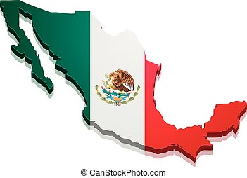 Map Mexico