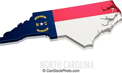 Map North Carolina