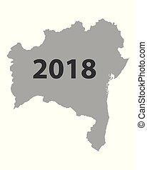 Map of Bahia 2018