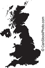 britain - map of britain