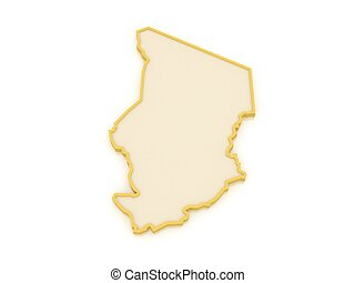Map of Chad.