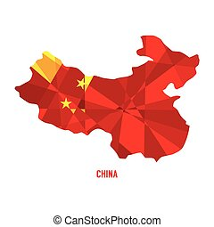 Map of China.