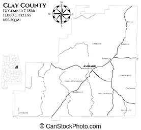 Clay county Vector Clipart Illustrations. 18 Clay county ... on baker county alabama map, city of jacksonville alabama map, dekalb county tennessee map, franklin co alabama map, dekalb county alabama zip code map, calhoun county alabama map, clay co ut, coosa county alabama map, tallapoosa county al map, lauderdale county alabama map, new york state school district map, alabama county road map, randolph county alabama map, liberty alabama map, birmingham alabama district map, cleburne county alabama map, pollard alabama map, limestone county alabama map, cheaha mountain alabama map, shelby county alabama map,