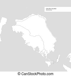 Map of Colon Island