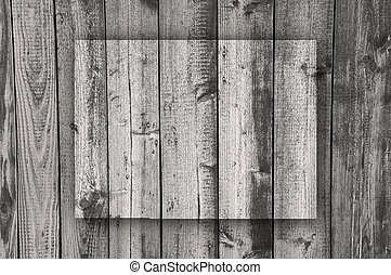 Map of Colorado on weathered wood