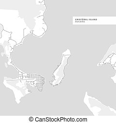 Map of Cristobal Island