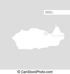Map of Cubagua Island