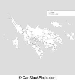 Map of Culebra Island