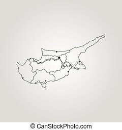 Map of cyprus map of cyprus gumiabroncs Image collections