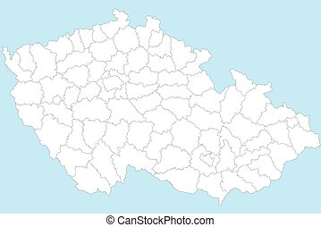 Map of Czech Republic - A large and detailed map of Czech...