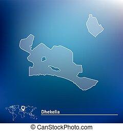 Map of Dhekelia