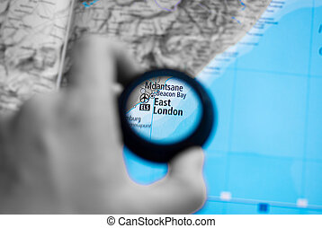 Map of east london