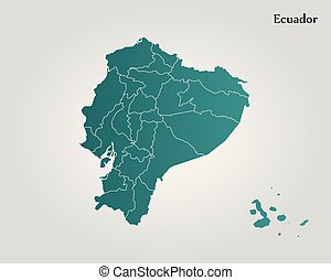 Map ecuador manabi map of ecuador with the provinces manabi is map of ecuador vector illustration world map gumiabroncs Image collections