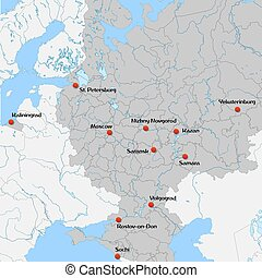 Blue similar russia vector map with capital city moscow ... on flat united states map, flat eurasia map, flat great britain map, flat country map, flat europe map, flat us map, flat africa map, flat world maps,