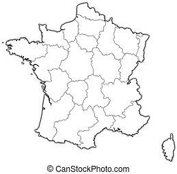 Map of burgundy france Map of burgundy a region of clip art