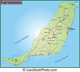 fuerteventura térkép Fuerteventura Stock Illustration Images. 155 Fuerteventura  fuerteventura térkép