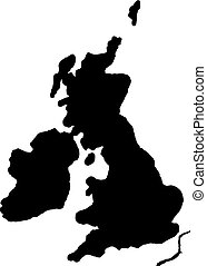 Map of Great Britain.