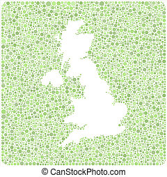 Map of Great Britain - Europe - int
